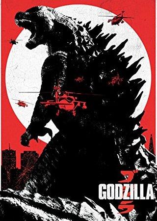 映画 ゴジラ Godzilla 2014 ポスター 約90x60cm アーロン テイラー ジョンソン 渡辺謙  【並行輸入品】